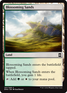 Blossoming Sands (Foil)