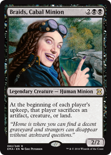 Braids, Cabal Minion (Foil)