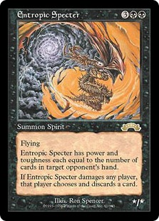 Entropic Specter