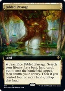 Fabled Passage (Extended Art Foil)