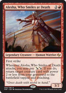 Alesha, Who Smiles at Death (Foil)