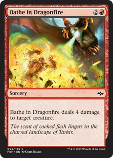 Bathe in Dragonfire (Foil)