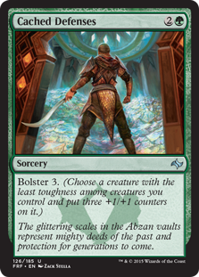 Cached Defenses (Foil)