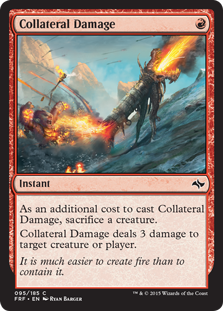 Collateral Damage (Foil)