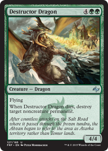 Destructor Dragon (Foil)
