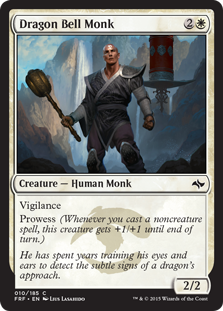 Dragon Bell Monk (Foil)
