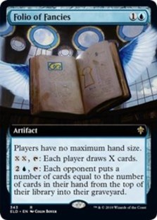 Folio of Fancies (Extended Art Foil)