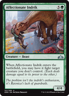 Affectionate Indrik (Foil)