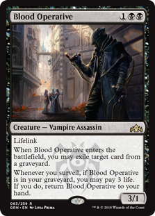 Blood Operative (Foil)