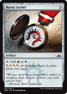 Boros Locket (Foil)