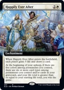 Happily Ever After (Extended Art Foil)