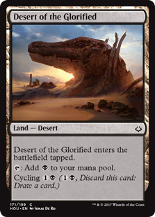 Desert of the Glorified
