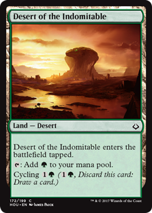 Desert of the Indomitable (Foil)