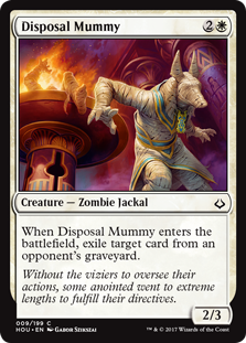 Disposal Mummy (Foil)