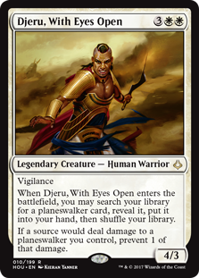 Djeru, With Eyes Open (Foil)