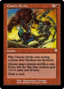 Chaotic Strike (Foil)