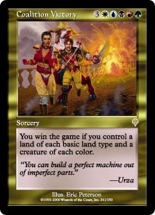 Coalition Victory (Foil)