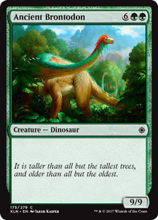 Ancient Brontodon (Foil)