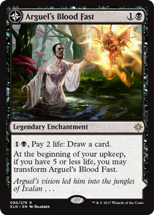 Arguel's Blood Fast // Temple of Aclazotz (Foil)