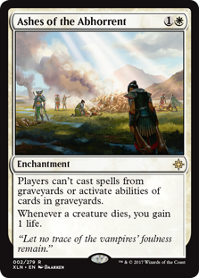 Ashes of the Abhorrent (Foil)