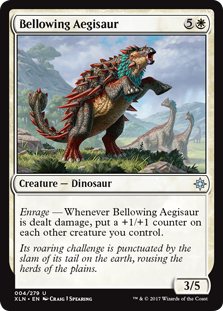 Bellowing Aegisaur (Foil)