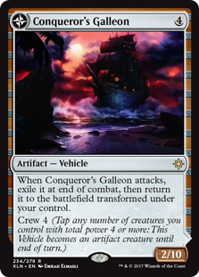 Conqueror's Galleon // Conqueror's Foothold (Foil)