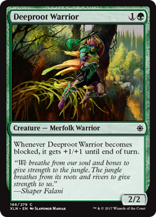 Deeproot Warrior (Foil)
