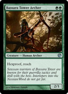 Bassara Tower Archer (Foil)