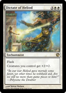 Dictate of Heliod (Foil)