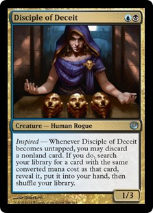 Disciple of Deceit (Foil)