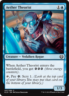 Aether Theorist (Foil)