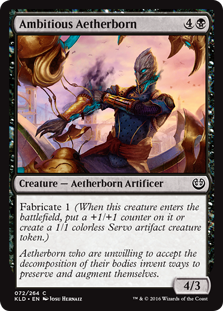 Ambitious Aetherborn (Foil)
