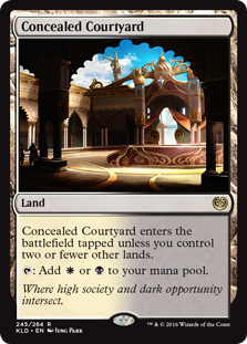 Concealed Courtyard (Foil)