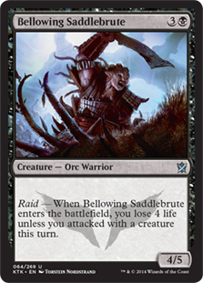 Bellowing Saddlebrute (Foil)