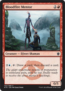 Bloodfire Mentor (Foil)