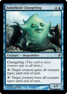 Amoeboid Changeling (Foil)