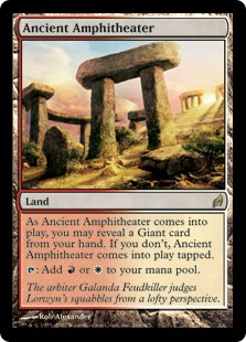 Ancient Amphitheater (Foil)