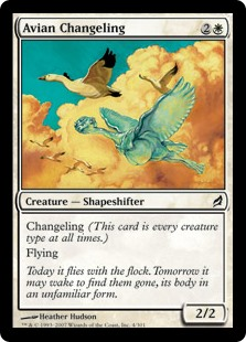 Avian Changeling (Foil)