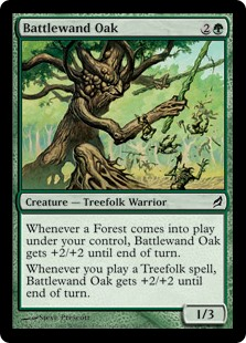 Battlewand Oak (Foil)