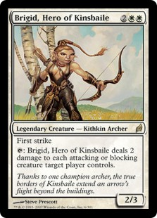Brigid, Hero of Kinsbaile (Foil)