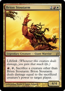 Brion Stoutarm (Foil)