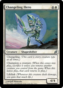 Changeling Hero (Foil)