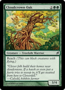 Cloudcrown Oak (Foil)
