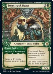 Lovestruck Beast // Heart's Desire (Showcase Foil)