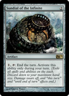 Sundial of the Infinite (Foil)
