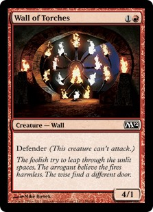 Wall of Torches (Foil)
