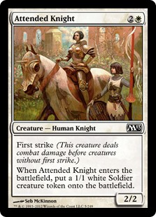 Attended Knight (Foil)