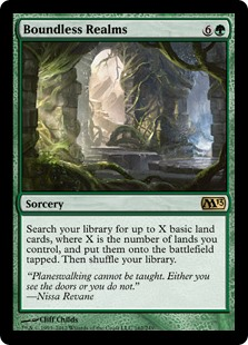 Boundless Realms (Foil)