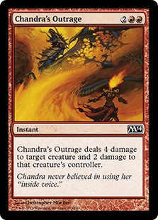 Chandra's Outrage (Foil)