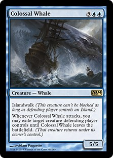 Colossal Whale (Foil)